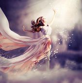 stock photo of miracle  - Fashion Art Beauty Portrait - JPG