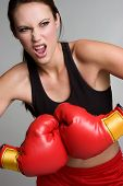 Boxing Fitness Girl