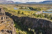 Valle de Thingvellir - Islandia.
