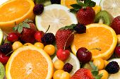 Beautiful Fruit Background