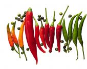 Hot Peppers, Chili, Spices