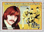 Ringo Starr Stamp