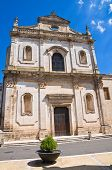 Church of St. Francesco. Manduria. Puglia. Italy.