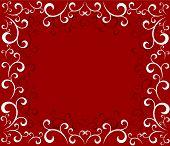 Christmas Swirls Frame