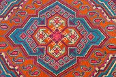 Ornament Of Central Asian Carpet