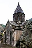 Medieval Geghard Monastery In Armenia