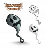 Постер, плакат: Halloween Monsters