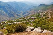 Panorama Of Village Halidzor In Armenia
