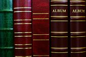Background From Cover Of Photograph Albums