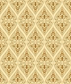 Brown Seamless Pattern. Vector Illustration