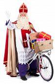 Sinterklaas On A Bike