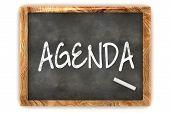 Agenda do quadro-negro