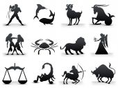 picture of zodiac sign  - A Set of Astrology Signs X 12 - JPG