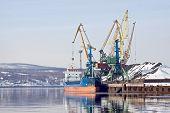 Freight Port. Murmansk