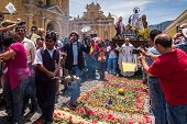 Easter Sunday procession, Antigua, Guatemala