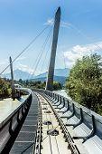 Innsbrucker Nordkette Cable Railways In Austria.