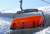 Orange Cableway In Ski Resort Jasna - Low Tatras, Slovakia