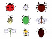 stock photo of mayfly  - bugs cartoon so cute - JPG