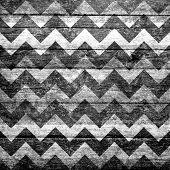 Seamless chevron pattern grunge texture
