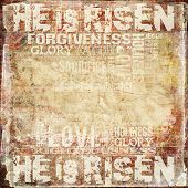 Easter Religious Background