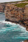 Cliffs on South Coast of Australia