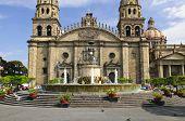 Cathedral in historic  center in Guadalajara, Jalisco, Mexico