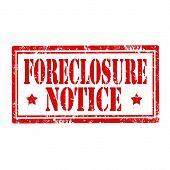 Foreclosure Notice stamp