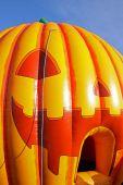 Scary Inflatable Hallowe'en Pumpkin