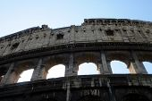 The Colosseum or Roman Coliseum (also spelled Coliseum) originally the Flavian Amphitheatre (Latin:
