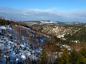 Jizera Mountains In Winter