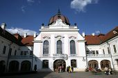 GODOLLO - APRIL 4: The Royal Palace in Godollo, Hungary, on Thursday, April 4, 2013. The palace was