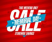 pic of memorial  - Memorial day sale design template - JPG