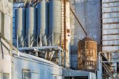 pic of chute  - industrial background  - JPG