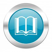book internet blue icon