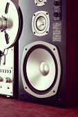 Big Audio Speaker Vintage