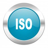 iso internet blue icon