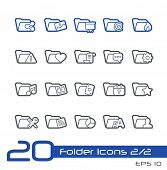 Folder Icons - 2 of 2 // Line Series