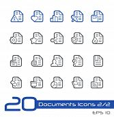 Documents Icons - 2 of 2 // Line Series