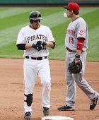 Pittsburgh Pirates Luis Cruz returns to first base
