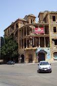 Beirut, Lebanon: Building In Ruins
