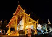 Wat Phra Singh At Night