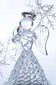 Christmas Glass Angel