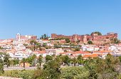 Panorama Of Silves In Portugal