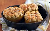 picture of crust  - Baked apple with pie crust - JPG