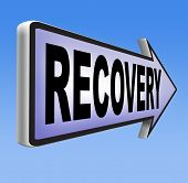 recovery after recession or injury