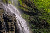 pic of virginia  - Cathedral Falls a waterfall in West Virginia - JPG