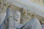 Washington DC -Supreme Court Building architectural details