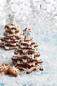 Homemade Gingerbread Christmas tree