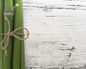 bamboo on the wooden background