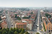 Panorama view of Brussels, Belgium